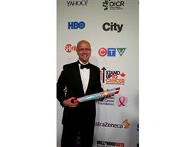 Siemens Healthcare CEO Dr. Gregory Sorensen on the red carpet at the SU2C Telethon 9/5/14