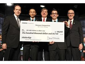 OHIO AND NEW MEXICO STUDENTS CAPTURE $100,000 SCHOLARSHIP PRIZE IN 2014 SIEMENS COMPETITION IN MATH, SCIENCE & TECHNOLOGY