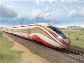 Siemens High Speed Rail Rendering