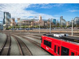 Siemens Light Rail Vehicle – San Diego World Record