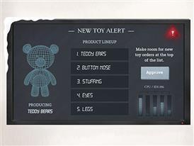 Santa's Factory - TIA Teddy Bear