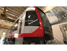 MUNI Light Rail Vehicle - Siemens Sacramento Rail Plant