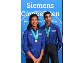Nikhil Cheerla & Anika Cheerla, Team Finalists