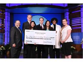 Adhya Beesam & Shriya Beesam, $100,000 winner, Siemens Competition 2016
