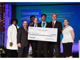 Vineet Edupuganti, 100,000 winner, Siemens Competition 2016