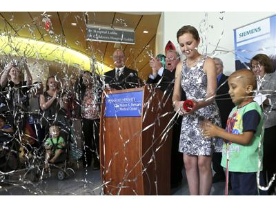 Baton Pass at Penn State Hershey Children's Hospital