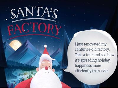 Santa's Factory: A Production Miracle. Re-Imagined