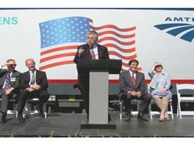 Amtrak Unveils Advanced Technology Locomotives For Northeast Service