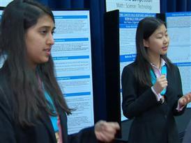 Alyssa Chen and Shriya Das, Team Finalists B-Roll