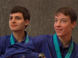 Noah Golowich and  Kavish Gandhi, Team Finalists B-Roll