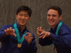 Aaron Argyres and  Mingu Kim, Team Finalists B-Roll
