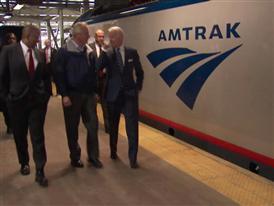 Amtrak / Siemens ACS-64 Debut on Northeast Corridor Event B-Roll