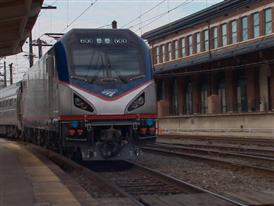 Amtrak Cities Sprinter Locomotive Debut Webisode
