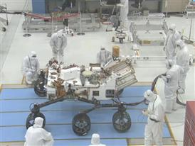 Mars Rover Curiosity with Siemens PLM Software B-Roll, August 2012