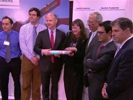 BRoll of NY Presbyterian Hospital, Siemens and SU2C's new campaign 3/19/14