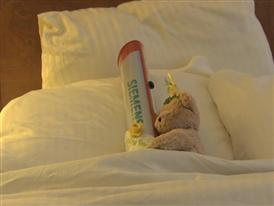The Baton spends the night at American Cancer Society's Hope Lodge in NYC 3/19/14