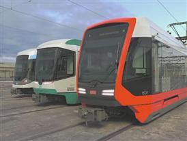 Video: Siemens new light rail vehicle for San Francisco 9/19/14