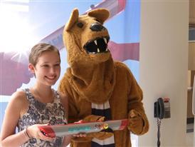 The Baton Pass at Penn State Hershey Children's Hospital Webisode 9/2/14