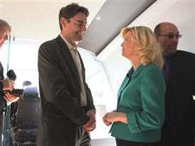 California Leaders Tour High Speed Train Exhibit B-Roll 2/25/15