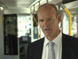 Michael Cahill, President of Siemens Rolling Stock