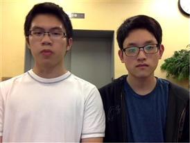 Jun Yan He & Bongseok Jung, Competitor Selfie Video