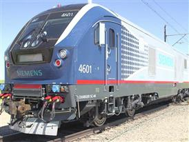 Siemens Charger Locomotive Testing, TTCI, Pueblo, CO - B-Roll