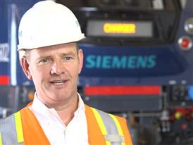 Michael Cahill, President, Siemens Rolling Stock