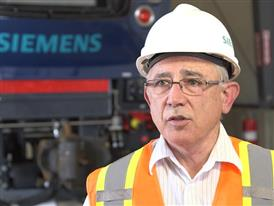 Dave Ward, VP of Locomotives, Siemens Mobility
