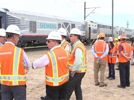 Siemens Charger Locomotive Testing, TTCI, Pueblo, CO - Event B-Roll