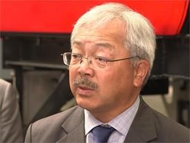SF Mayor Ed Lee on the new MUNI Light Rail Vehicles - 8/29/16