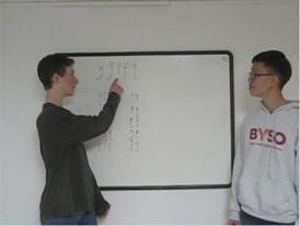 Louis Golowich and Richard Zhou, Competitor Velfie