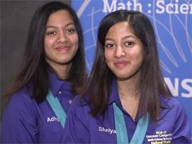 Adhya Beesam & Shriya Beesam, Team Finalists B-Roll