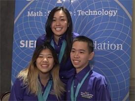 Katherine Cao, William Hu & Alice Wu, Team Finalists B-Roll