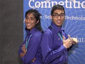 Nikhil Cheerla & Anika Cheerla, Team Finalists B-Roll