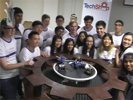 Taking the SumoBot Challenge at the TechShop, DC-Arlington