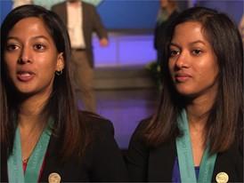 Adhya Beesam & Shriya Beesam, Team Winner Soundbites