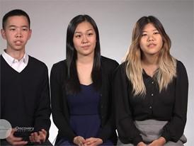 Katherine Cao, William Hu & Alice Wu, Team Finalists Story Video
