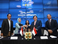 Singaporean SIXCAP, Gajah Mada University joins hands to boost Indonesia's Digital Economy
