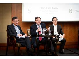 Patrick Teng puts forward his case at the ACCA Debate 2015