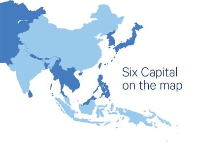 Six Capital on the map