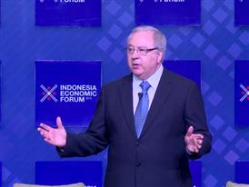 Dr. Gordon Hewitt Keynote Speech at the Indonesia Economic Forum – Part 1
