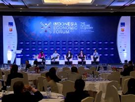 The Future of Now: Panel Discussion at Indonesia Economic Forum – Part 1