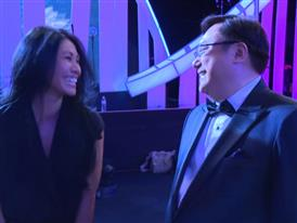 Anggun, Indonesian Singer  and Patrick Teng,  Six Capital Executive Chairman