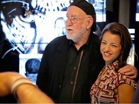 Albert Watson with Jennifer Stromberg of  HP Global-Marketing Partnerships