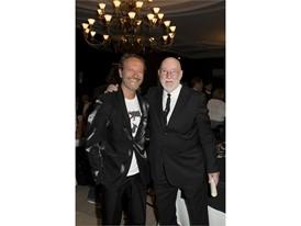Cesare Picco (pianist) and  Albert Watson -  Credits Foto Flury