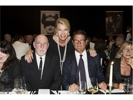 Albert Watson,  Kathy Dobers ( Cartier), Fabio Capello and Wife Laura Ghisi - Credits  FotoFlury