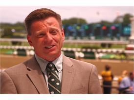 Richard Migliore, Retired Jockey and Racing Analyst, NYRA