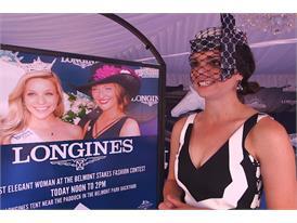 Briana Mott, Fashion at the Races