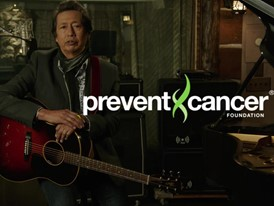 "Alejandro Escovedo for Prevent Cancer Foundation® ""Think About the Link®"""