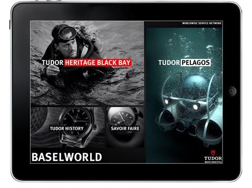 Apple iPad Tudor Home Page